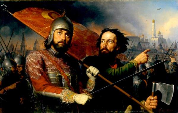Скотти М.И. Минин и Пожарский. 1850